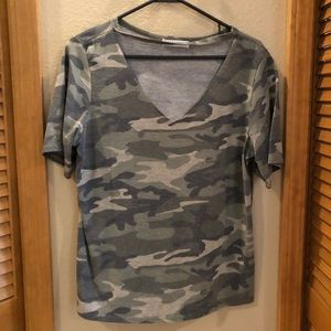 Tops - Camo Boutique Top